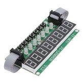 Moduł LED TM1638 8-cyfrowy 8-przyciskowy przełącznik 8-bitowa cyfrowa rura LED Można kaskadowo