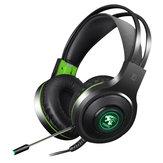 V5000 3,5 mm audio lichtgewicht bedrade hoofdtelefoon met 100 mm luidspreker Gaming headset voor computerberoep Gamer