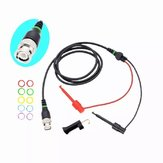 3Pcs Y104X 1.1M BNC To Test Hook Cable Q9 Oscilloscope Test Probe Leads