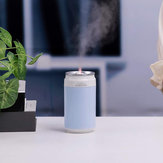 Portable USB Humidifier Special Can Shape with Flame Lamp for Desk Travel Office Car and Bedroom