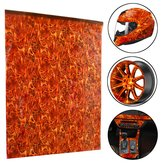 50x100cm Flame Film Hydrographic Water Transfer DIY Printing DIP Hydro Dipping Decorations