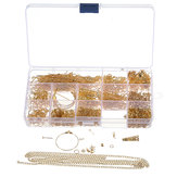 720 pcs / ensemble Kit de Fabrication de Bijoux DIY Boucle D'oreille Résultats Crochet Broches Mixte Artisanat Accessoires