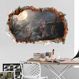 Miico FX64112 Halloween Sticker Wandaufkleber Dekoration Für Wohnzimmer Halloween Dekoration