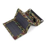 10 W 5V Su Geçirmez Taşınabilir Katlanabilir Solar Panel Şarj USB Portu ile Kampçılık Yürüyüş Tırmanma için Güç Bankası