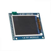 1.8 بوصة LCD TFT عرض وحدة مع PCB لوحة الكترونية معززة 128X160 SPI المسلسل مدخل
