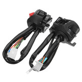 7/8 polegadas 12V Motocicleta Guiador Buzina Turn Signal Light Headlight Control Start Switch