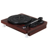 MDY-1305-1 33 45 78 RPM Record Player Antique Gramophone Turntable Disc Vinyl Audio RCA R/L 3.5mm
