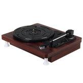 MDY-1305-1 33 45 78 RPM toca-discos Gramofone antigo Disco giratório de vinil Áudio RCA R / L 3,5 mm