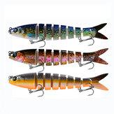 Proberos® 1PC 135мм 19г Море с жесткой приманкой Рыбалка Приманка 4D Приманка для рыбы с 2 крючками