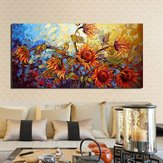 120x60cm Abstract Flower Canvas Print Art Oil Paintings Home Wall Decor Unframed