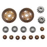 Wltoys Metal Differential Main Gear Set voor 12427 12428 144001 RC auto-onderdelen
