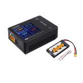 ToolkitRC M6 MINI 150W 10A Inteligentní nabíječka baterií černá s nabíječkou XT60 pro baterii Lipo 2-6S