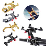 360° Rotating Mobile Phone Mount Holder Stand Bicycle Motorcycle GPS Aluminum Alloy Universal