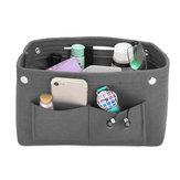 5 couleurs portable feutre tissu sac à main sac à main organisateur sac multi poche insert