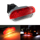 LED Interior Door Card Courtesy Logo Lights Red White For VW Golf Mk4 Bora