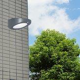 Solar Powered LED PIR Motion Sensor Wall Light for Outdoor Garden Yard Lamp