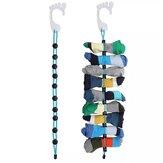Sock Storage Organizer ABS Material Faltbare Haken Socken Reinigungshilfe