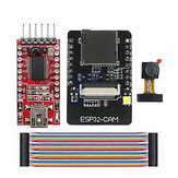 ESP32-CAM WiFi + bluetooth Development Board ESP32 with FT232RL FTDI USB to TTL Serial Converter 40 Pin Jumper