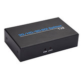 1 In 2 Out SD / HD / 3G SDI Splitter Automatic Identification For Video switcher