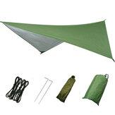 Wodoodporny duży namiot kempingowy Tarp Shelter Hamak Cover Lekki deszczowiec