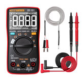 ANENG AN113D Intelligentes Auto Measure TrueRMS Digital Multimeter 6000 Zählt Widerstand Diode Durchgangsprüfer Temperatur AC / DC-Spannung Strommesser Verbessert von AN8002