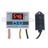 XH-W3005 Controlador de umidade digital Interruptor de controle de umidade Umidificação Desumidificação Controle de umidade constante Sensor