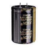 22000UF 50V 35x50mm Capacitor eletrolítico de alumínio radial de alta frequência 105 ° C