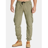 Men's Jogger Twill Tapered Chino Active Cargo Casual Pants T