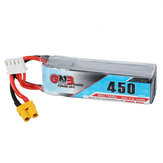 Gaoneng GNB 11.1V 450mAh 80/160C 3S Lipo Battery XT30 Plug for GEPRC PHANTOM HD Toothpick