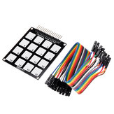 16 Keys Capacitive Touch Key Pad Module RobotDyn for Arduino - products that work with official Arduino boards