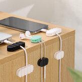JOYROOM JR-ZS209 Enrolador organizador de cabos de gerenciamento de mesa para iPhone X XS Huawei Xiaomi Mi9 S10 S10+ Cabo de dados e fone de ouvido de mouse Fio não original