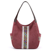 Women Large Capacity Canvas Handbag Shoulder Bag