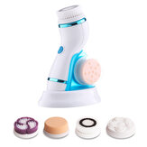 4 i 1 Sonic Facial Cleansing Brush Silikone Vibration Clean