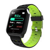 Bakeey F16 ECG+PPG Heart Rate Blood Pressure Oxygen Monitor Weather Push Dymanic UI 1.3inch Color Screen Light-weight Smart Watch