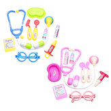 11Pcs Pretend Doctor Nurse Medical Case Role Toys Play Kids Set Educational Gift