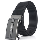 TUSHI 125x3.4cm Tactical Belt Nylon Belt Quick Release Metal Buckle Waist Belt