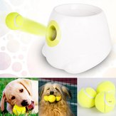 Interaktive Hyper Fetch Mini Treat Hund Katze Pet Ball Machine Launcher Spielzeug Game Trainer