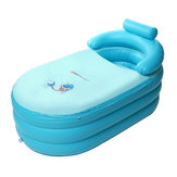 Portable Blowup Adult Spa PVC Folding Bathtub Warm Inflatable Cushion Bath Tub Inflatable Bathtub