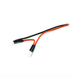 URUAV 2S PH2.0 Pigtail Solid Pin 20AWG 100mm Solering Power Cable Wire for TRASHCAN Mobula7 Whoop FPV Racing Drone