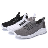 Męskie super ultralekkie trampki Mesh Oddychająca mucha Weave Outdoor Sports Casual Shoes