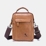 Men Fashion Crossbody Multifunctional Shoulder Bag Handbag