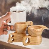 4 Patterns Chic Coffee Cup Vintage Trinkbecher aus Gummi