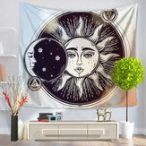 Indian Hippie psychedelische Sun Moon Mandala Tapestry Art muur opknoping sprei Decor