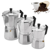 Moka Pot Stovetop Espresso Coffee Maker Latte 150/300 / 450ML
