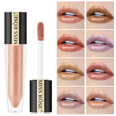Błyszczyk do ust Miss Rose Shimmer Pearly Metallic Lip Stick