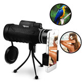 Panda 20X60 Monocular Hunting Optic Len Telescope HD Night Vision With Tripod Phone Clip