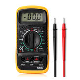 Digital Multimeter AC DC Current Voltage Resistance Meter Voltmeter Ammeter dengan Blue Backlight LCD