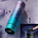 CS04-450 450ML Smart Mug Stainless Steel Water Thermal Bottle With LCD Touch Screen Temperature Display Vacuum Cup