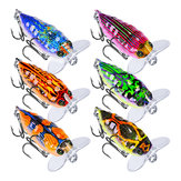 ZANLURE 1Pcs 4cm/4g Popper Artificial Insect Sytle Topwater Fishing Lure 8# Treble Hook