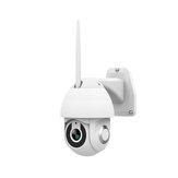 Câmera de vigilância wi-fi externa H.264 Gravação de vídeo infravermelho com visão noturna IP66 Câmera de alarme por voz bidirecional